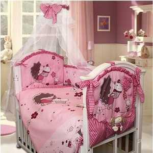 Комплект постельного белья Золотой гусь Ежик Топа-топ (розовый) 2186 розовый топ
