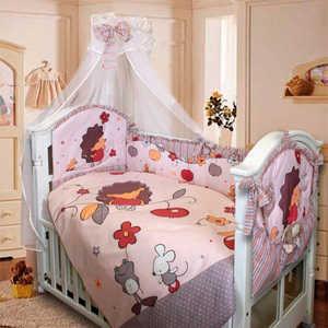 Комплект в кроватку Золотой гусь Ежик Топа-топ (бежевый) 1283 балдахин на детскую кроватку купить в пензе