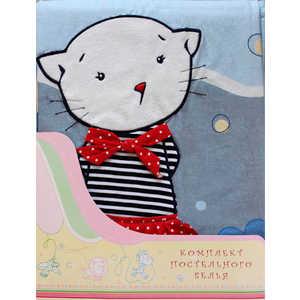 Комплект постельного белья Золотой гусь ''Морские котята'' (красный) 2198