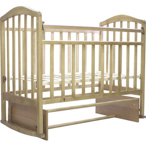 Кроватка Антел ''Алита-3'' (бук)