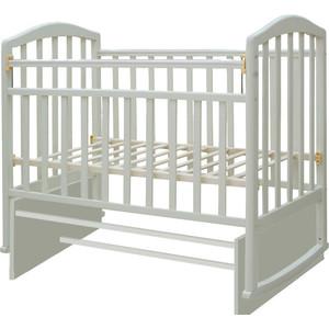 Кроватка Антел Алита-3 (слоновая кость) обычная кроватка антел алита 2 орех