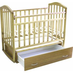 Фотография товара кроватка Антел ''Алита-4'' маятник/качалка/ящик (бук) (182436)