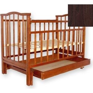 Кроватка Агат Золушка 4 (шоколад) 52102