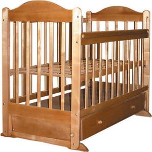 Кроватка Ивашка ''Мой малыш 8'' поперечный маятник (орех)