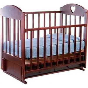 Кроватка Ведрусс ''Иришка 3'' (вишня)