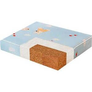 Плитекс Матрас в кроватку Кокос ''Юниор'' малый (50х60х11см) (вставка для кроватей трансформер) ю-119-21