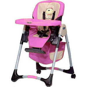 Стульчик для кормления Jean (розовый) pink11 h05