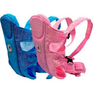 Сумка-кенгуру Baby Care HS-3185 Pink эргорюкзак baby care hs 3183 pink