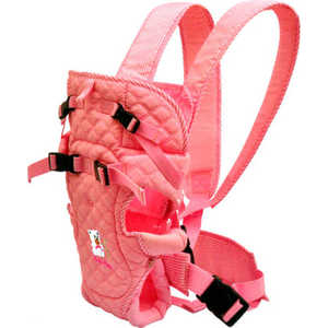 Сумка-кенгуру Baby Care hs-3195 pink эргорюкзак baby care hs 3183 pink