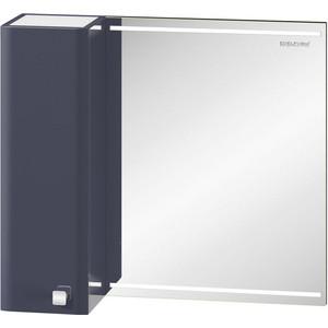 Зеркальный шкаф Edelform нота 75 серый (2-620-20-S) edelform мебель для ванной edelform nota 75 белая