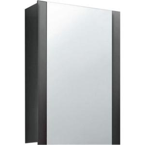 Зеркальный шкаф Edelform фреш 60 антрацит (2-614-04-S) трия шкаф верхний со стеклом синга крем в 60 60 1дос
