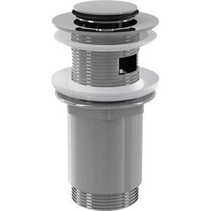 Донный клапан AlcaPlast для умывальника click-clak с малой заглушкой (A391) сифон для раковины alcaplast хромированная латунь d32 с накидной a432