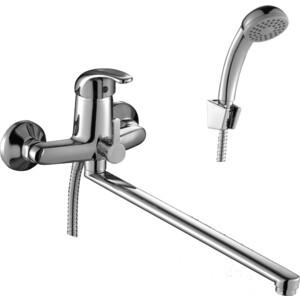 Смеситель для ванны Rossinka излив 350 мм с аксессуарами (C40-32) смеситель для ванны smartsant инлайн излив 350 мм с аксессуарами sm103502aa