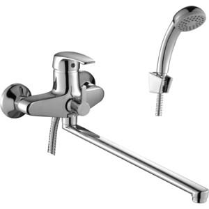 Смеситель для ванны Rossinka излив 350 мм с аксессуарами (F40-32) смеситель для ванны smartsant инлайн излив 350 мм с аксессуарами sm103502aa