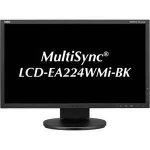 Монитор Nec EA224WMi Black монитор nec 24 accusync as242w as242w