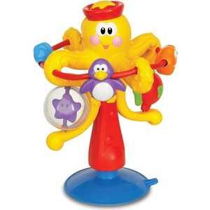 kiddieland развивающая игрушка осьминог на присоске 038190 Kiddieland Развивающая игрушка Осьминог на присоске KID 038190