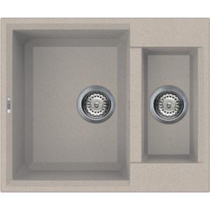 Мойка кухонная Elleci Quadra 150 590х500 granitek (51) LGQ15051