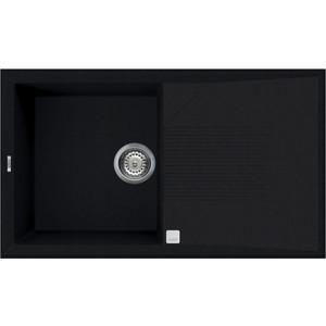 Мойка кухонная Elleci Tekno 400 860x500 vitrotek (86) LVT40086 elleci ego corner vitrotek 86 black lvecor 86
