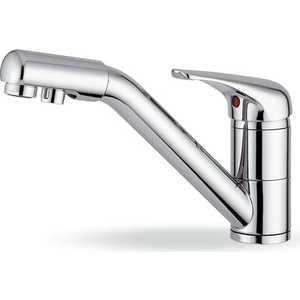 Смеситель для кухни Elleci Madeira cromato (MIKMADCR)  смеситель для кухни osgard balans 34974 с переключателем на питьевую воду