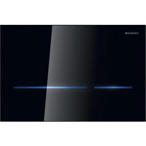 Клавиша смыва Geberit Sigma 80 электронная черное стекло (116.090.SG.1) клавиша смыва geberit sigma 50 белая 115 788 00 1