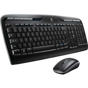 Комплект Logitech Wireless Combo MK330 Black USB (920-003995) цена и фото