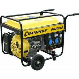 Генератор бензиновый сварочный Champion GW200AE сварочный генератор dde сварочный инверторный генератор dpw160i