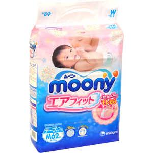 Подгузники Moony М 6-11кг 62шт 4903111243976