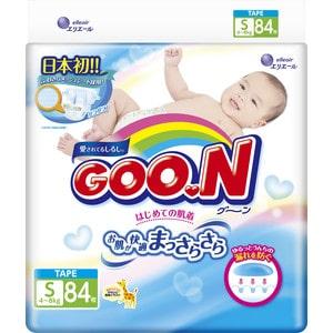 Подгузники Goon S 4-8кг 84шт 4902011751321