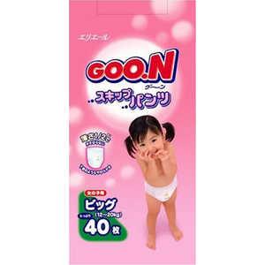 Трусики - подгузники Goon XL 12-20кг 40шт для девочек 4902011751413