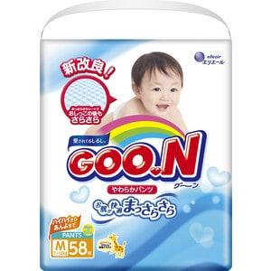 Трусики - подгузники Goon 7-12 кг М (58шт) 4902011747621