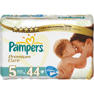 "Подгузники Pampers ""Premium Care"" 11-25кг 44шт 4015400278870"