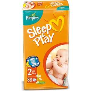 "Подгузники Pampers ""Sleep and Play"" 3-6 кг 88шт 4015400378952"