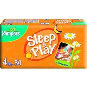 "Подгузники Pampers ""Sleep and Play"" 7-18кг 50шт 4015400224242"