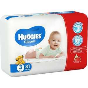 Подгузники Huggies ''Classic'' 4-9кг 31шт Econom 5029053541198