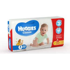 Подгузники Huggies ''Classic'' 7-18кг 50шт Jumbo 5029053543147