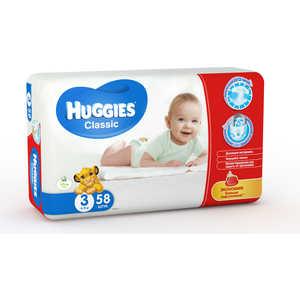 Подгузники Huggies ''Classic'' 4-9кг 58шт Jumbo 5029053543109