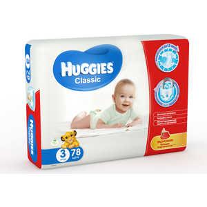 Подгузники Huggies ''Classic'' 4-9кг 78шт Mega 5029053543116