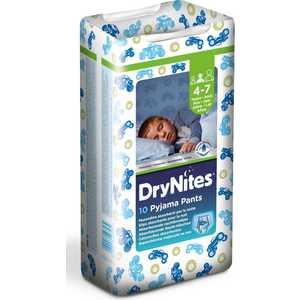 Трусики Huggies ''Dry Nights'' 17-30кг 4-7лет 10шт для мальчиков 5029053527574