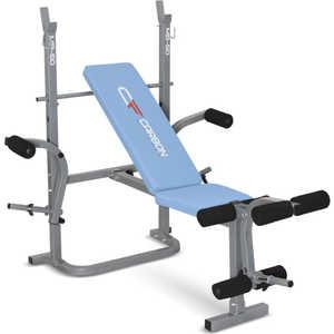 Многофункциональная скамья Carbon Fitness MB-50 разгибание ног сидя pangolin 9002