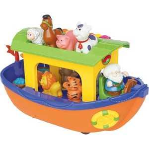 Kiddieland Развивающая игрушка Ноев ковчег (русская версия) KID 049734 kiddieland развивающая игрушка космический корабль kid 045898