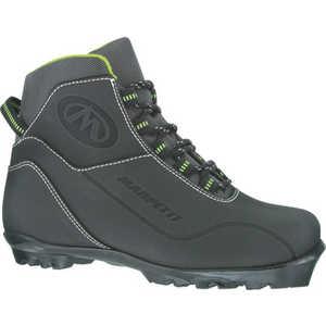 Лыжные ботинки Marpetti Merano NNN син.нубук (черный) размер 44