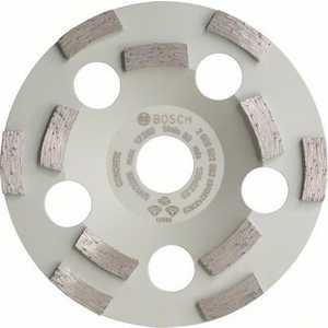 Чашка алмазная шлифовальная Bosch 125х22.2мм двурядная по бетону (2.608.602.552)