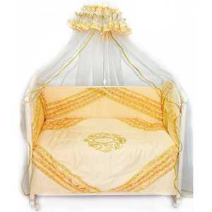 Комплект в кроватку Bombus Виконт 7 предметов (бежевый) 1543 карман на кроватку bombus светик желтый
