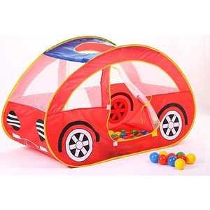 Домик Bony ''Автомобиль'' 130х70х80см в комплекте с шариками 100шт LI653