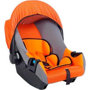 Автокресло-переноска Leader Kids ''Эгида-люкс'' (оранжевый/серый)