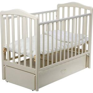 Кроватка Papaloni ''Винни'' 120х60см с маятником (слоновая кость)
