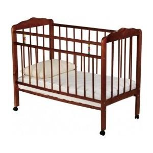 Кроватка Смирнов Женечка 1 колесо (вишня) кроватка mibb dado ciliegio вишня li030dci