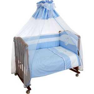Комплект постельного белья Сонный Гномик Пушистик (голубой) 710/1Б dali 17 1 1б