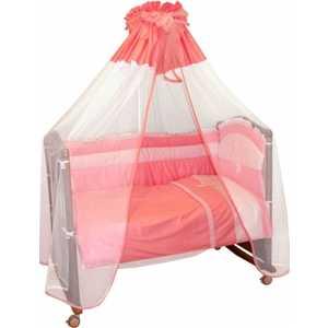 Фотография товара комплект постельного белья Сонный Гномик ''Пушистик'' (розовый) 710/2Б (192905)