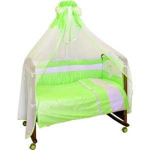 Фотография товара комплект постельного белья Сонный Гномик ''Пушистик'' (зеленый) 710/3 (192906)